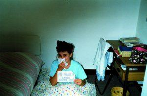 Cristina a Cambridge - estate 1989