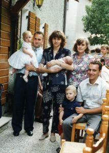 Battesimo Riccardo, Isabella è la madrina