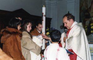 Battesimo Francesco