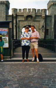 Carlo e Cristina a Gardaland