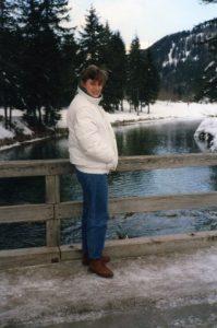 Cristina in montagna