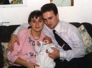 Cristina, Carlo e il piccolo Francesco