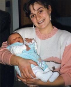 Cristina e il piccolo Francesco