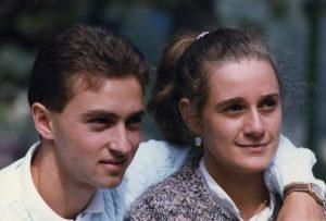 Cristina e Carlo fidanzati