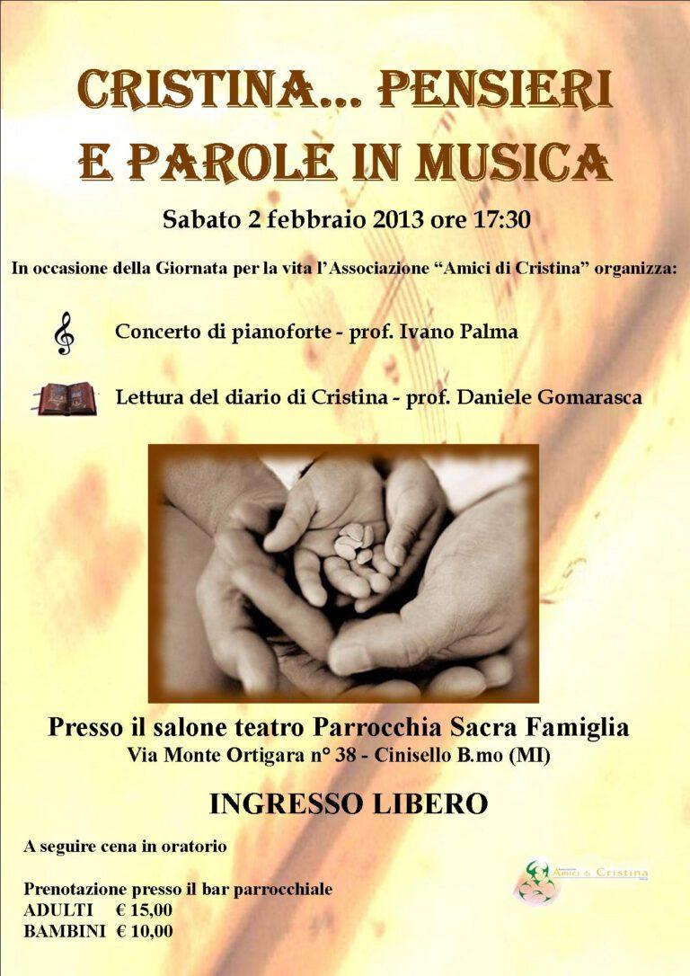 Lettere di Cristina in musica