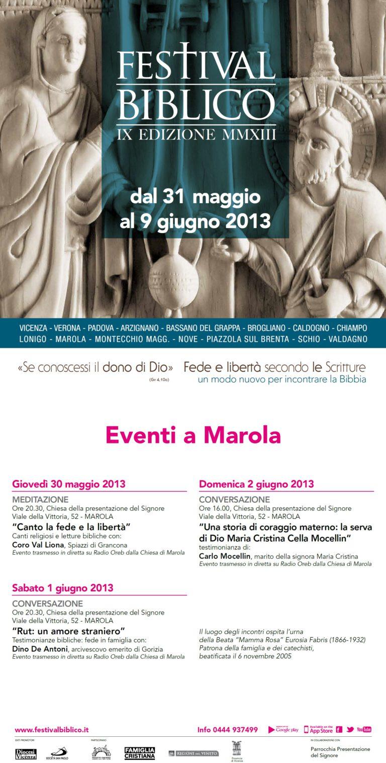Festival Biblico Marola