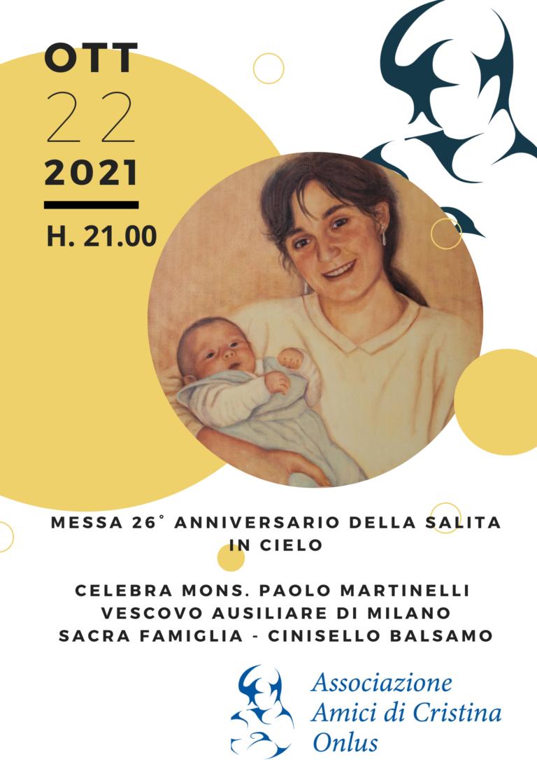 S. Messa 26° anniversario Cinisello Balsamo